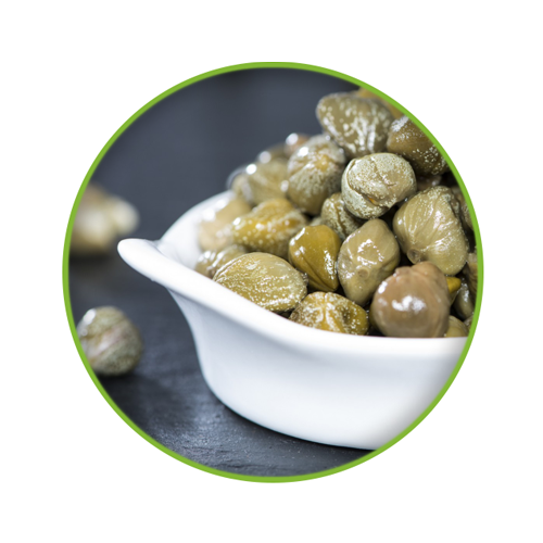 Capers, Olives and Sundried Tomatoes